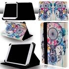 Universal FOLIO LEATHER STAND CASE COVER For Various 7 inch Tablet + Stylus