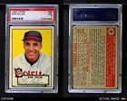 1952 Topps #88 Bob Feller Indians PSA 7 - NM