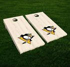 Pittsburgh Penguins Cornhole Decal Vinyl NHL Hockey Car Wall Set of 2 GL97 $19.95 USD on eBay