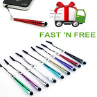 1 X MINI  COLOURFUL TOUCH  PEN STYLUS  FOR ANDROID IPHONE IPAD ECT,10 COLS AVAI