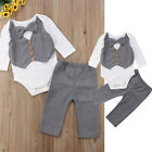 Newborn Kids Baby Boys Outfits Sets Jumpsuit Romper Bodysuit
