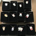 Avon~HELLO KITTY~Silver Plated ZODIAC Sign Necklace BRAND NEW & BOXED