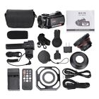 """ORDRO AC5 4K 3.1"""" IPS Touch Screen 1080P WiFi 12X Optical Zoom Camera Camcorders"""
