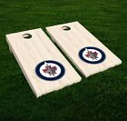 Winnipeg Jets Cornhole Decal Vinyl NHL Hockey Car Wall Set of 2 GL113 $34.95 USD on eBay