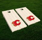 Calgary Flames Cornhole Decal Vinyl NHL Hockey Car Wall Set of 2 GL116 $19.95 USD on eBay