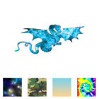 Flying Dragon - Vinyl Decal Sticker - Multiple Patterns & Sizes - Ebn620