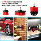 3Pcs/Set Grout Power Scrubber Floor Cleaner Combo Cleaning Drill Brush Wall Tile