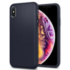 For iPhone X, XS, XS Max, XR Case Spigen® [Liquid Air] Slim Protective Cover