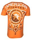 AMERICAN FIGHTER Mens T-Shirt TENNESSEE TEE Athletic Biker MMA Gym UFC $50 image