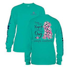SIMPLY SOUTHERN WOMEN'S T SHIRT I JUST WANNA HANG WITH MY DOG,  NWT