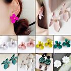 Fashion Women Daisy Flowers Ear Stud Drop Earrings Boho Charm Jewelry Gifts New