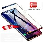 6D Tempered Glass Screen Protector For Samsung Galaxy Note 8 9 S7 Edge S9 S8Plus