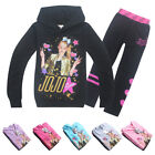 Внешний вид - Jacket Cardigan + Leggings jojo siwa Medium Children's Wear Long Sleeve T-Shirt