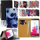 For Various LG SmartPhones - Leather Wallet Card Stand Flip Case Cover