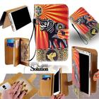 For Various LG Mobile Phones - Leather Wallet Card Stand Flip Case Cover