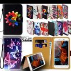 For Lenovo Vibe SmartPhones - Leather Wallet Card Stand Flip Case Cover