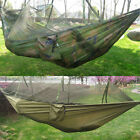 Travel Outdoor Camping Mosquito Net Nylon Hammock Hanging Sleeping Swing Bed MC