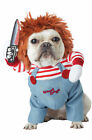 Brand New Deadly Doll Chucky Inspired Scary Pet Costume