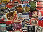 Внешний вид - Vintage Travel Stickers Hotel Logos, Companies, Old Hipster Stickers Airlines
