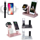 Charging Dock Stand Station Charger Holder for Apple Watch iWatch iPhone X 8 7 6