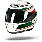 Shoei GT Air GT Air Primal TC 4 White Red Green Full Face Motorcycle Helmet