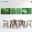Green Bamboo Picture Canvas Painting Three Picture Combination Home Decor 3Panel
