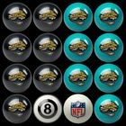 NFL Billiard Ball Set - The Ultimate Jacksonville Jaguar Fan Pool Table Ball Set $387.62 USD on eBay