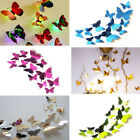 Fashion 3d Butterfly Wall Stickers Art Decal Home Room Decorations Decor Kids