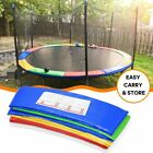 12' 14' 15' Trampoline Replacement Safety Pad Frame Spring Round Cover Blue Pink image