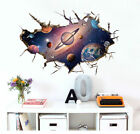 Space Galaxy Stars Planets Universe 3D Wall Mural Photo Wallpaper Kids Stickers