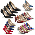 PLEASER - Classique-20 Pointed Toe Classic Pump Court Shoe