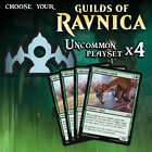 Choose Your Guilds of Ravnica - Uncommon Playset x4 cards - GRN MTG M/NM