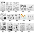Silicone Clear Stamp Cling Seal Scrapbook Embossing Album Nice DIY Craft Decor