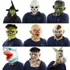 Adult Halloween Cosplay Costume Prop Head Cosplay Mask Horror Clown Mask Party