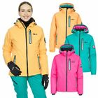 DLX Womens Ski Jacket Waterproof Extreme Winter Snow Coat With Hood
