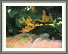By The Sea by Paul Gauguin | Framed canvas | Wall art poster print HD