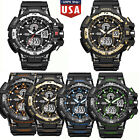G shock Style Men Military LED Digital-watch Waterproof Multif Sports Watch US image