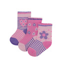 Newborn+Baby+Girl+Toddler+Pack+of+3+Ankle+Socks+Cute+Pink++0-6+6-12+12-18+Months