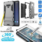 360 Full-Body Rugged Bumper Case w/Screen Protector F Samsung Galaxy S8 S9 Note9