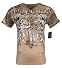 XTREME COUTURE by AFFLICTION Men T-Shirt MUERTE Biker Wings MMA GYM S-2X $40 image