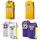 Mens Lebron James Los Angeles Lakers 23 Swingman Jersey CHOOSE SIZE AND STYLE