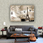 Lot Poster World Map Large Huge Giant Wall Print Silk Fabric Decor 46x32 Inch 03