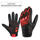 Thickened Winter Cycling Bike Gloves Windproof Warmer GEL Liquid Silicone Palm