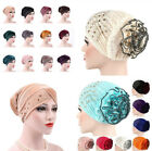 Kyпить Women Muslim Turban Hat Chemo Cap Lace Head Wrap Scarf Cover Hijab Gift US на еВаy.соm