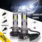110W 20000LM CREE LED-Scheinwerfer Lampen H1 H7 H8 H9 H11 9005/6 Kit Xenon Weiß