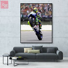 Canvas print wall art big poster Valentino Rossi Superbike Yamaha MotoGP Race gj