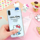 Genuine Hello Kitty Friends Figure Jelly Case iPhone XS/iPhone XS Max Case 5 Typ