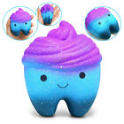 Jumbo Cute Tooth Slow Rising Squishy Soft Squeeze Kids Stress Reliever Toys US