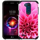 For LG X Power 3 /XPower3 2018 Phone Case Shockproof Dual Layer Hybrid Cover USA