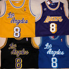 Kobe Bryant #8 Los Angeles Lakers Retro Throwback Stitched Mens Jersey